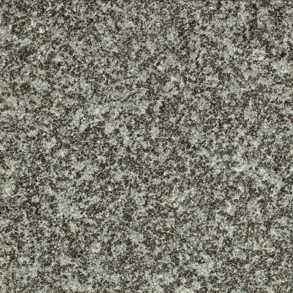 sandgestrahlt-Gebhartser Syenit grau-Hartgestein