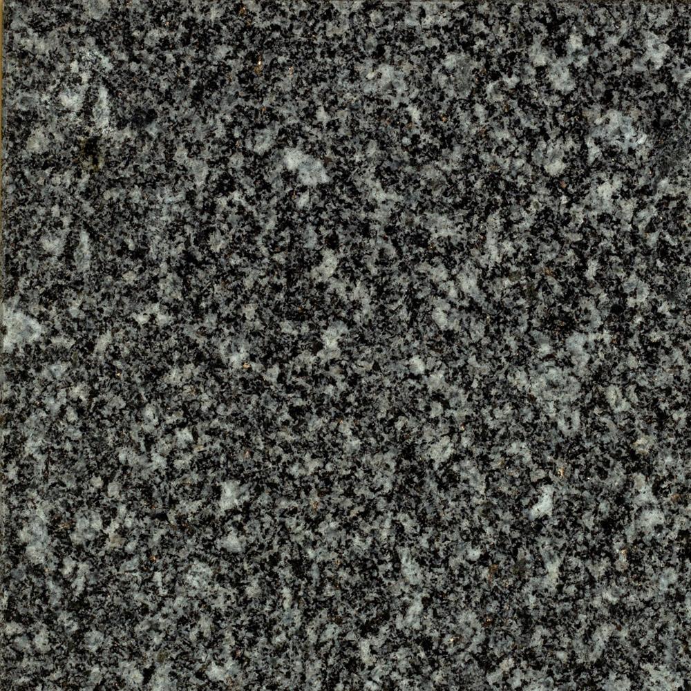 Gebhartser Syenit grau-gebürstet-Hartgestein