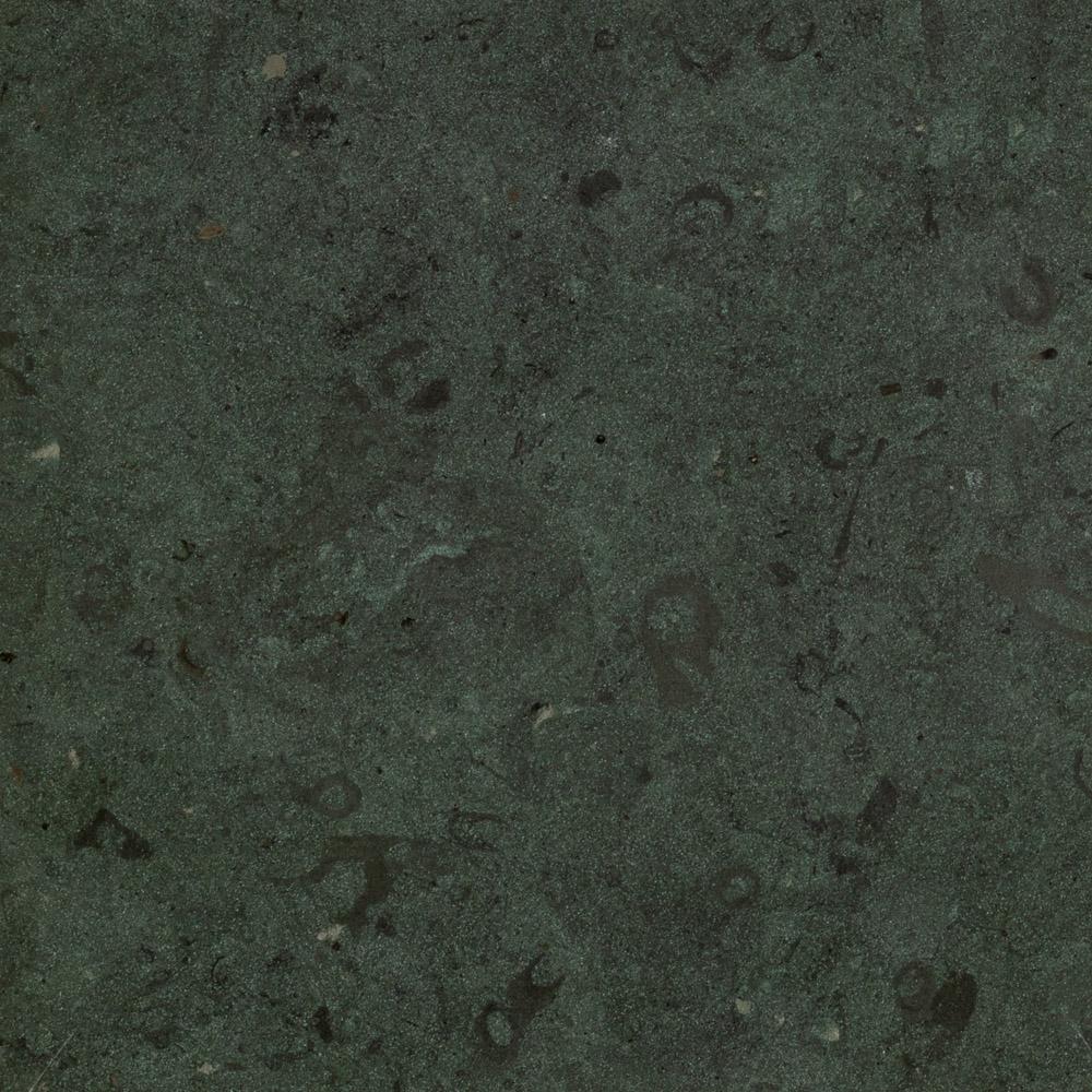 geschliffen-Anröchter Stein grün-Weichgestein
